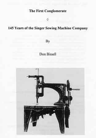 Books On Sewing Machine History ISMACS Booklist Beauteous The Singer Company Sewing Machines