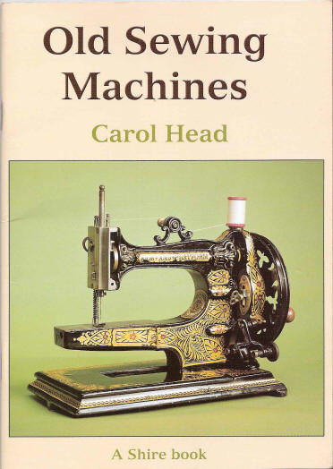 Book Cover Sewing Machine ~ Books on collecting vintage sewing machines ismacs booklist