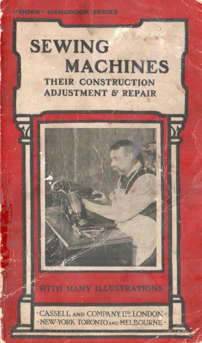 Books on Sewing Machine Repair & Maintenance - ISMACS Booklist
