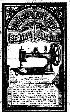 Don Franklin London >> The Story of the Davis Sewing Machine Company - History ...