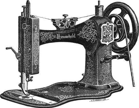1879 Household Sewing Machine Head