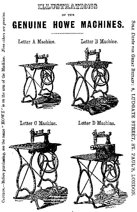 The Howe Sewing Machine