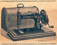 Bradbury Soeze Sewing Machine Manual