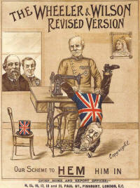 Wheeler & Wilson's support of the British War in Africa