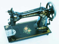 The Jones Spool Sewing Machine a Wheeler & Wilson D9 Clone