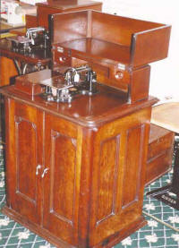 Wheeler & Wilson Number 9 Sewing Machine in Full Case