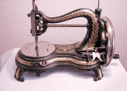Joseph Watson Soap Company Jones Catback Sewing Machine