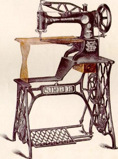 Singer Model 40 Leather Stitching Sewing Machin Interesting Singer Sewing Machine For Leather