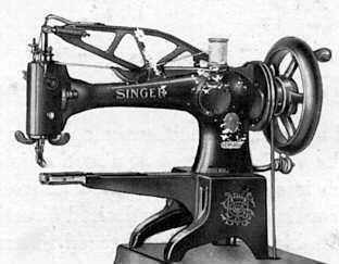 Singer Model 29 Leather Sching Sewing Machin