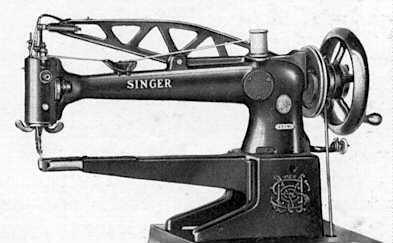 Singer Model 29 Leather Stitching Sewing Machin