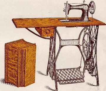 Singer Extension Leaf Sewing Machine Tables