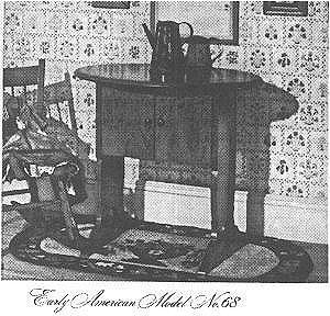Featherweight Fever - Elusive Sewing Machine Cabinets and Tables