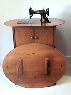 Singer Cabinet No. 68 for the Featherweight 221 Sewing Machine