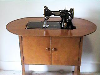 number 68 sewing machine cabinet