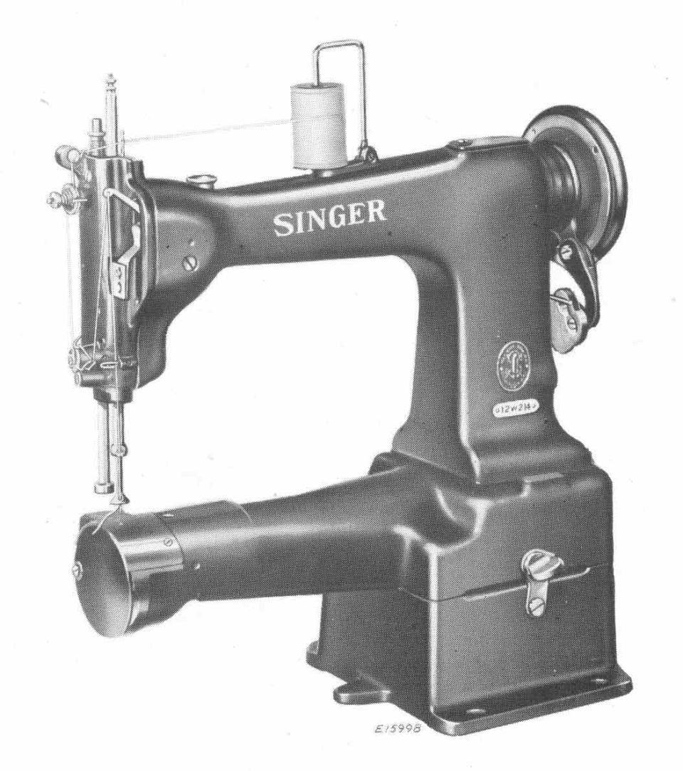 Comprehensive Singer Sewing Machine Model List Classes 1 99 K Threading Diagram 12w224