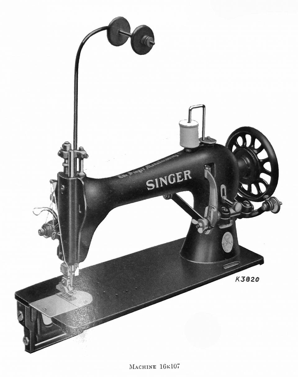Comprehensive Singer Sewing Machine Model List Classes 1 99 K Threading Diagram 16k107