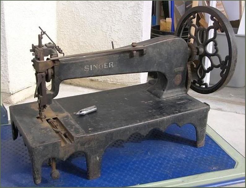 Singer dating sewing machine