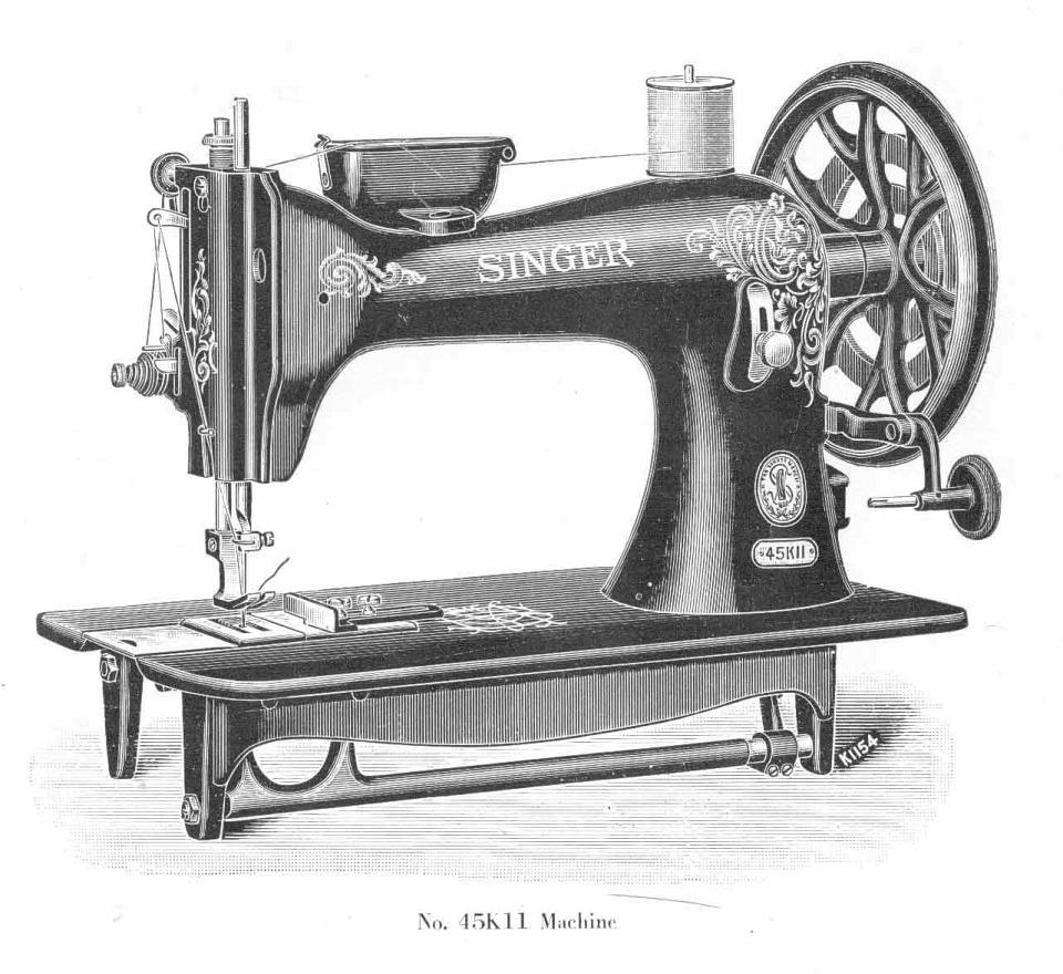 singer sewing machine l