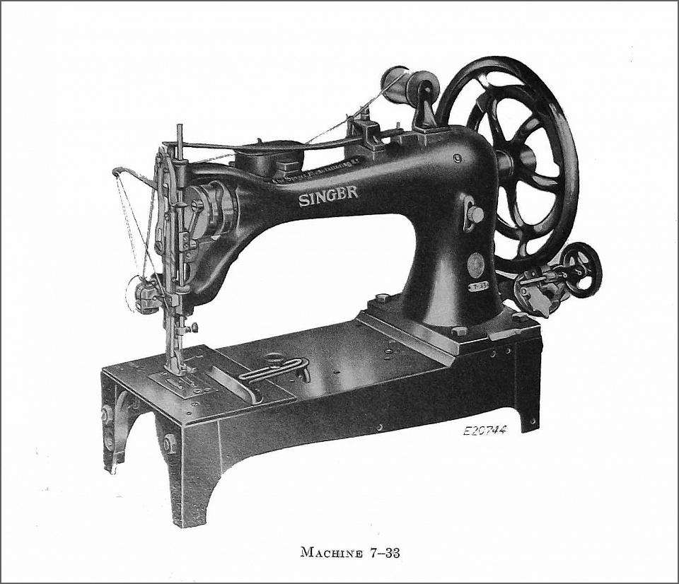 Comprehensive Singer Sewing Machine Model List Classes 1-99