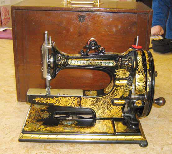 Ward's Arm & Platform Sewing Machine