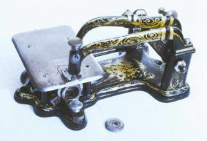 Waisted-base Wheeler & Wilson Sewing Machine