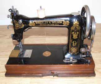 wheeler wilson sewing machine