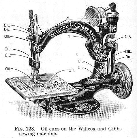 Dating willcox and gibbs sewing machines