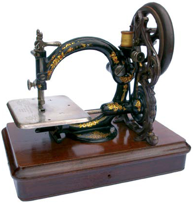 Vintage, Antique, and Rare Sewing Machines - International